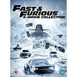 Digital box Filmer Fast & Furious 8-Film Collection DVD (1-8 Box Set) + digital download [2017]
